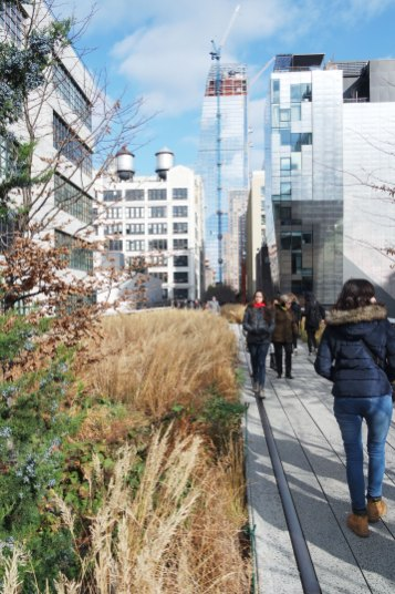High Line New-York City voyage