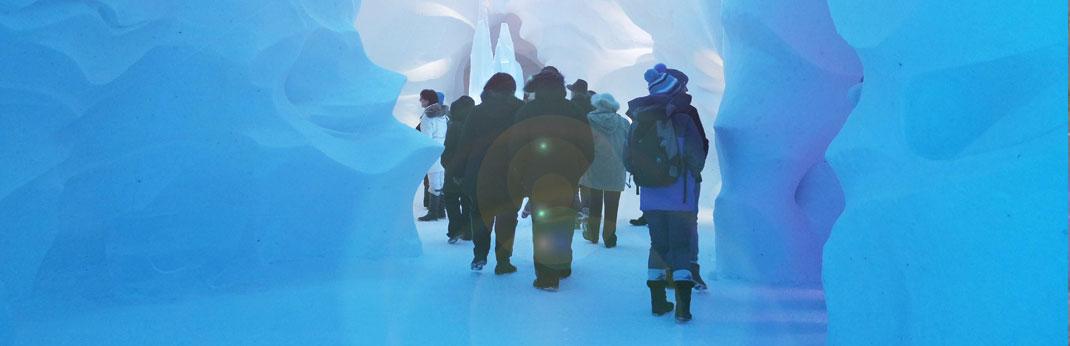 Hôtel de glace - Québec City - Canada