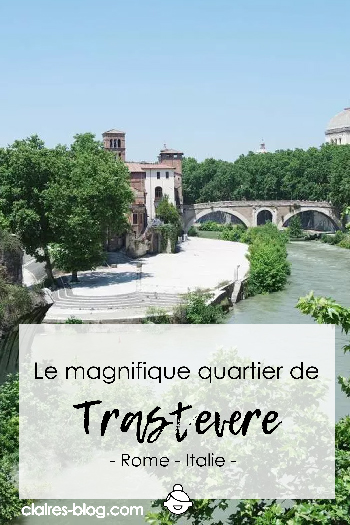 Je vous emmène dans le magnifique quartier de Trastevere - Rome - Italie