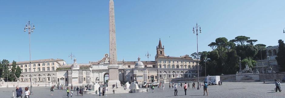 rome italie place du peuple piazza del popolo