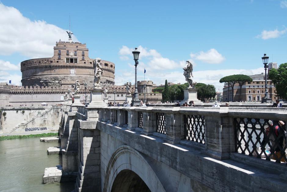 rome italie pont saint ange