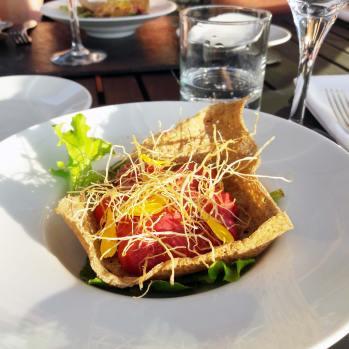 restaurant bio yves rocher jardins sauvages gilles le galles eco hotel spa bretagne (4)