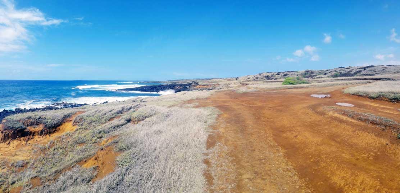 Hawaï big island green sand beach