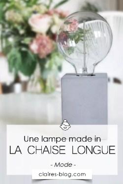 Une lampe originale de la Chaise Longue #lampe #déco #lachaiselongue #industriel