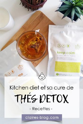 kitchendiet et sa cure détox à base de thés #detox #kitchendiet #thé