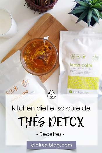kitchendiet et sa cure détox à base de thés #detox #kitchendiet #thé