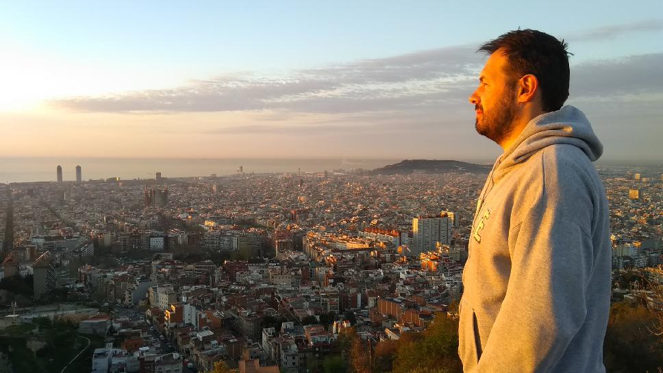 Barcelone-Espagne-Bunker-del-Carmel-panorama-Lionel