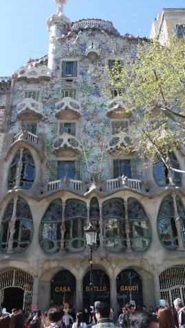 Barcelone-Espagne-passeig de gracia gaudi (1)