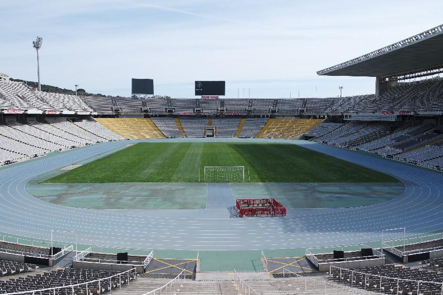 Barcelone-Espagne-stade olympique