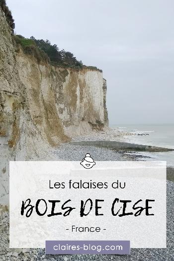 Les falaises du Bois de Cise - Picardie - Hauts de France #picardie #voyage #hautsdefrance #boisdecise