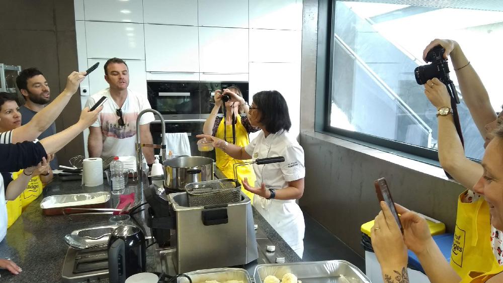 Influenceurs blogueurs atelier cuisine