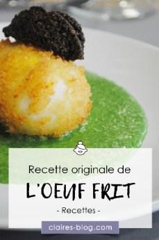Idée de recette originale : l'oeuf frit, sa crème de mâche et truffade #atelier #recette #cuisine #oeuf #mache #truffade #recetteoriginale