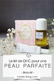 Un kit pour une peau parfaite de chez DHC #cosmétique #beauté ~#kitvoyage #voyage #peauparfaite