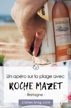 Un apéro sur la plage avec Roche Mazet