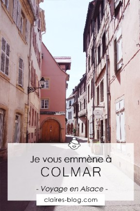 Je vous emmène à Colmar en Alsace #voyage #france #colmar #alsace