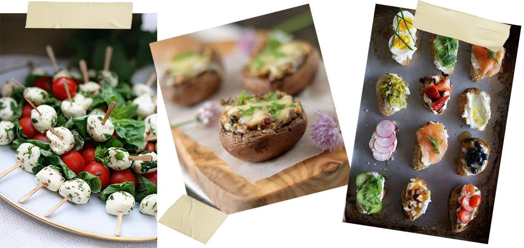 recettes finger food plateau repas