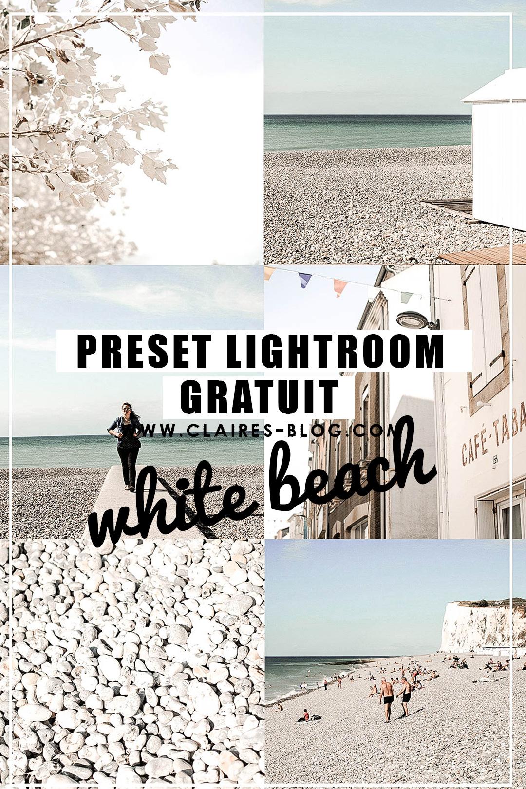 preset lightroom clairesblog white
