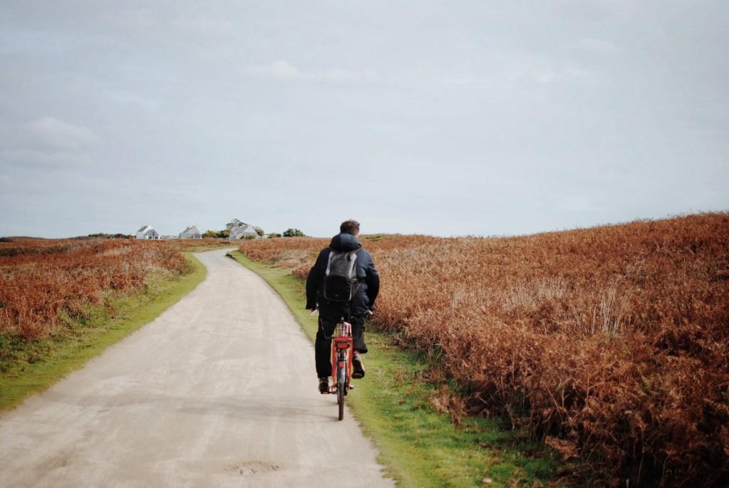 ouessant bicyclettes vélo se déplacer bretagne finistère