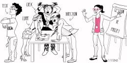 Illustration pour le site Diane de la Raitrie -Gestion de Projet -http://www.dianedelaraitrie.com/savoir-faire/