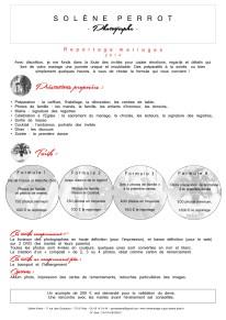 2) Ma proposition Identité Graphique pour Solène Perrot (Photographe)