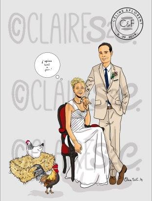 Céline et Florent