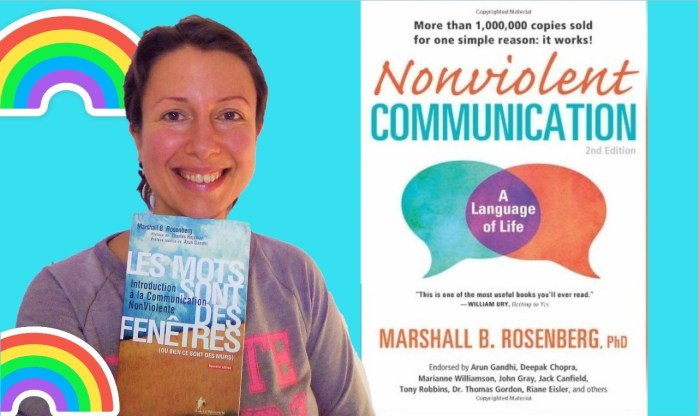 "How to deal with our needs and emotions with the fantastic book ""Nonviolent Communication"" by M. Rosenberg - Claire Samuel"
