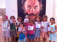 Chuck Close at the Met Week 3