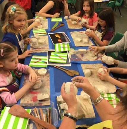 Parent-Child Workshop: Clay Animal Building