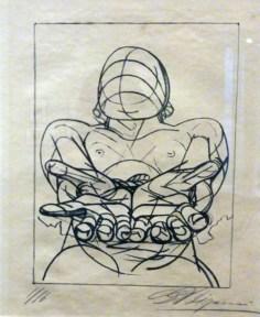 David Alfaro Siqueiros lithograph