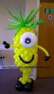 Alien balloon character