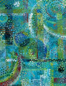 BULLES TURQUOISE