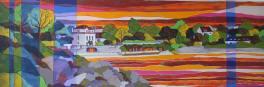 LES SAISONS – Cabines de l'île aux moines – Orange