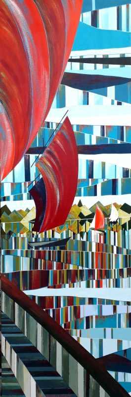 REFLETS – Les voiles rouges
