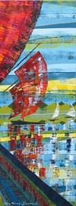 Peinture acrylique paysage breton
