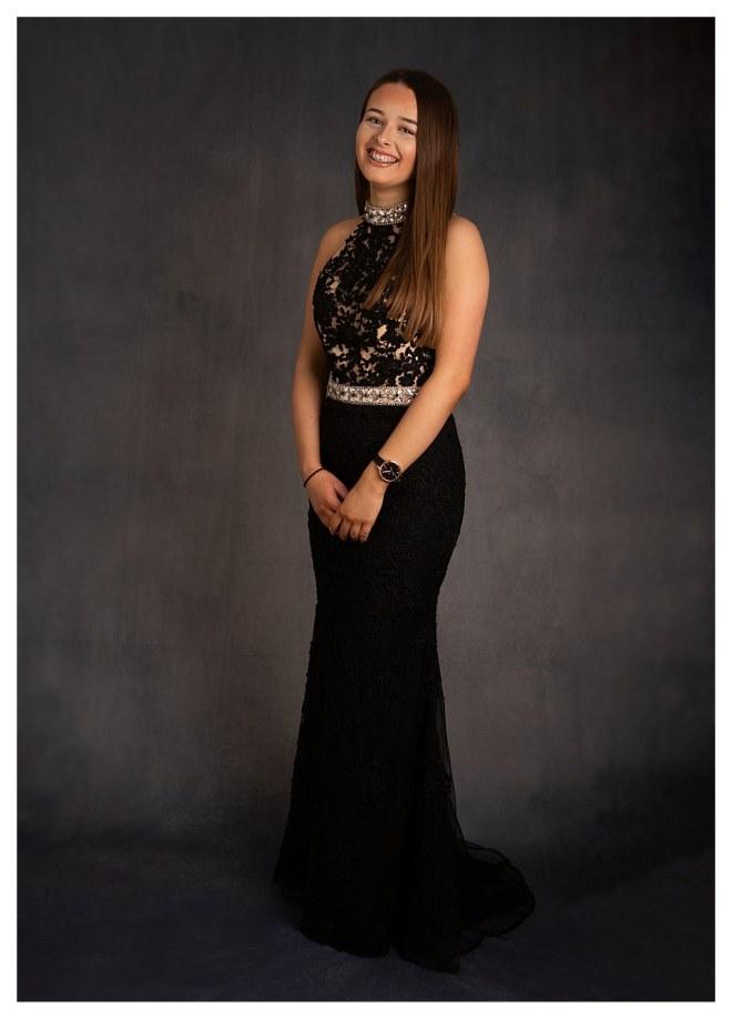 Leaving School, Girl in prom dress