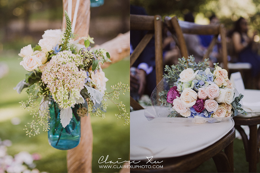 Oak Canyon Ranch Wedding Flower Detail