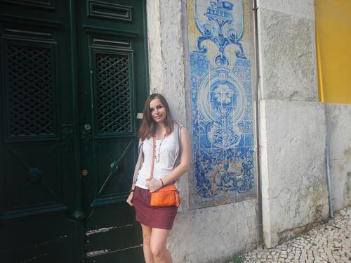 Lisbonne quartier Alfama Azuleros