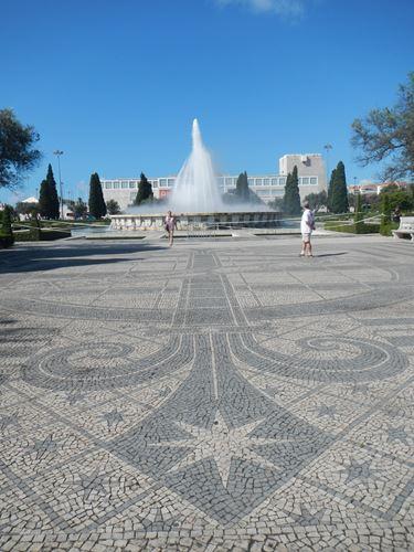 Lisbonne Praça do Impero