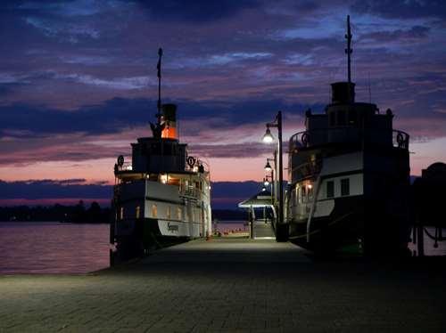 Canada - Claironyva - Steam Boats Gravenhurst