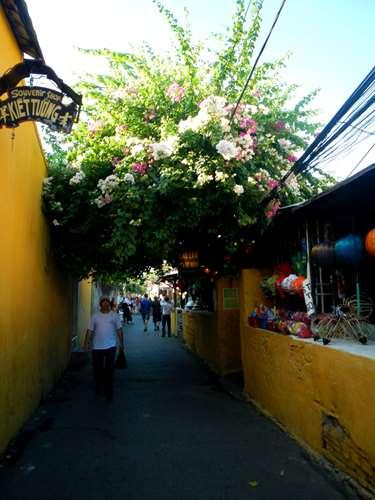 Entrée vieille ville Hoi An Vietnam