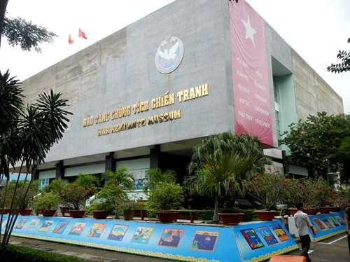 Claironyva Vietnam Ho Chi Minh Saigon Musée de la guerre