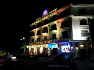 Hue by night, l'hôtel Saigon Morin