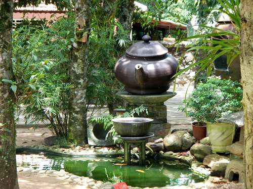 Jardin de la Pagode de Thien Mu