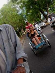 Retour de la cité impériale de Hue en cyclo !