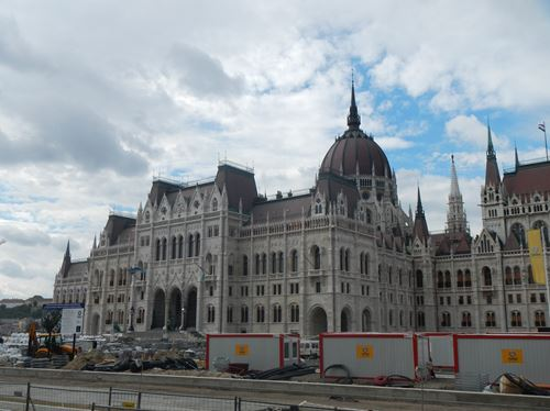 Budapest Le Parlement
