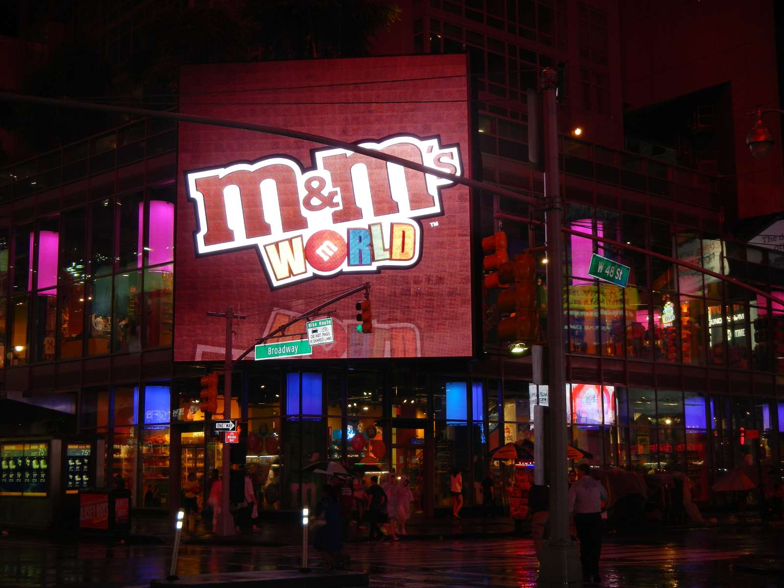 New York - Times Square - Boutique M&M's