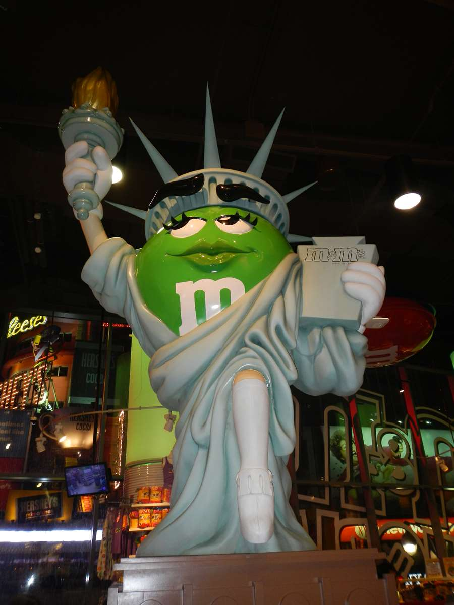 New York - Times Square - Boutique M&M's Claironyva