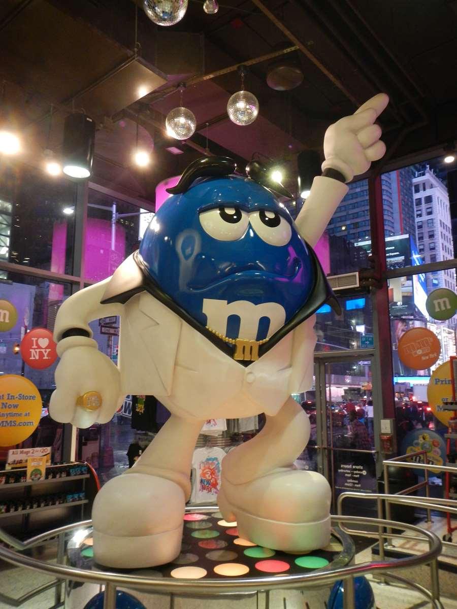 New York - Times Square - Boutique M&M's Claironyva