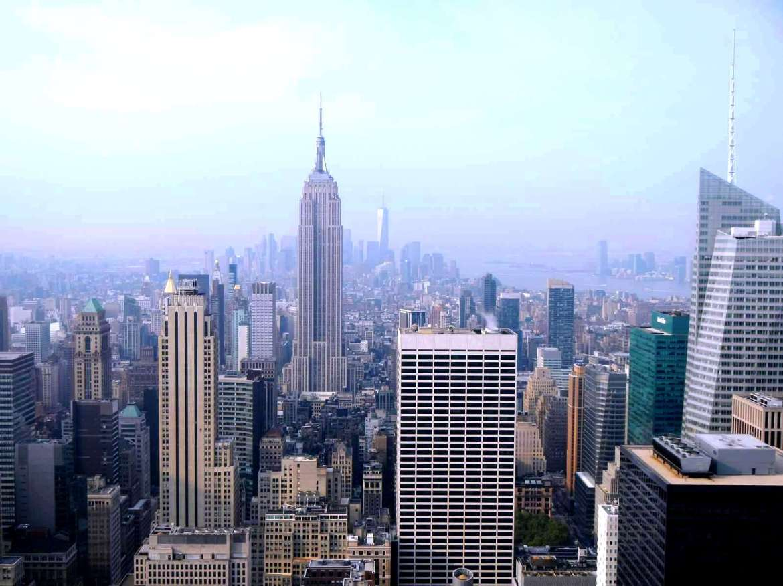 New York - Vue depuis le Top of the Rock