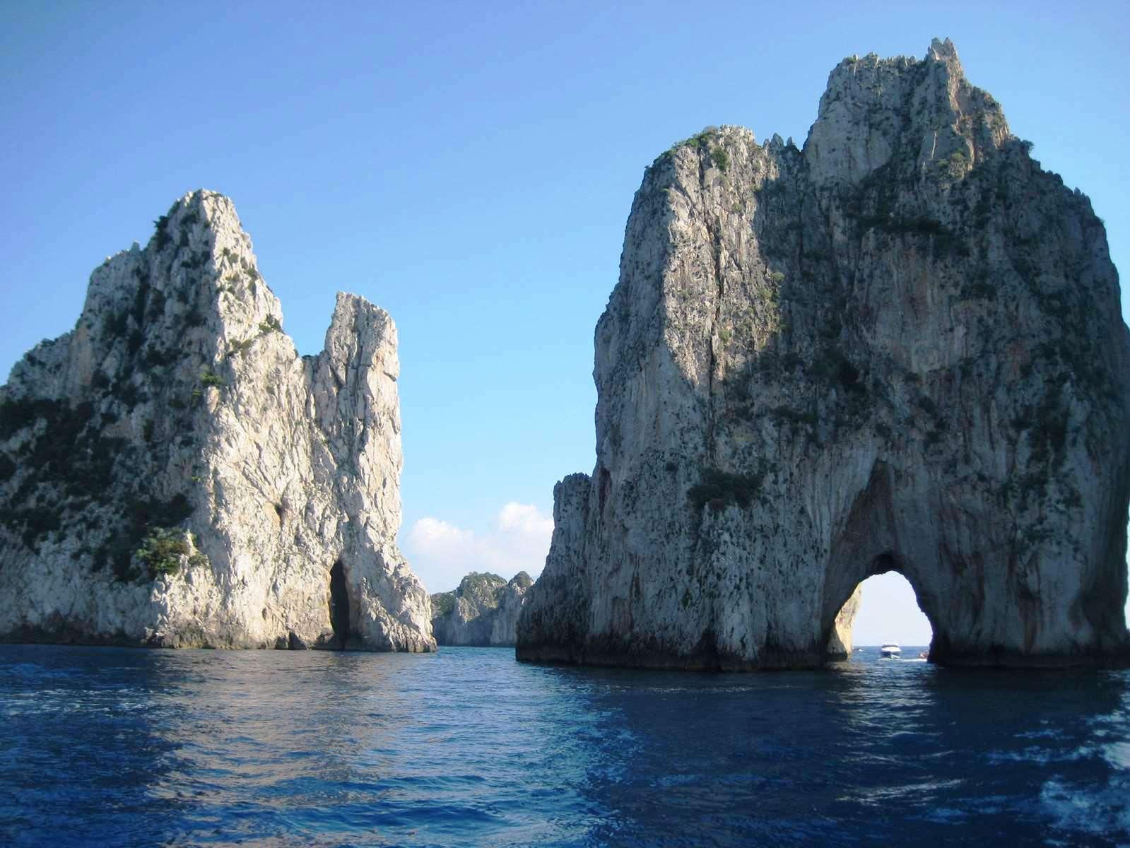 Italie-Capri Arche de l'Amour